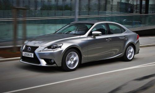 Lexus trademarks 'IS 200t' nameplate – report