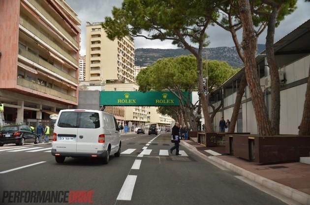 2014 Monaco Monte Carlo F1 track-Boulevard Albert 1er