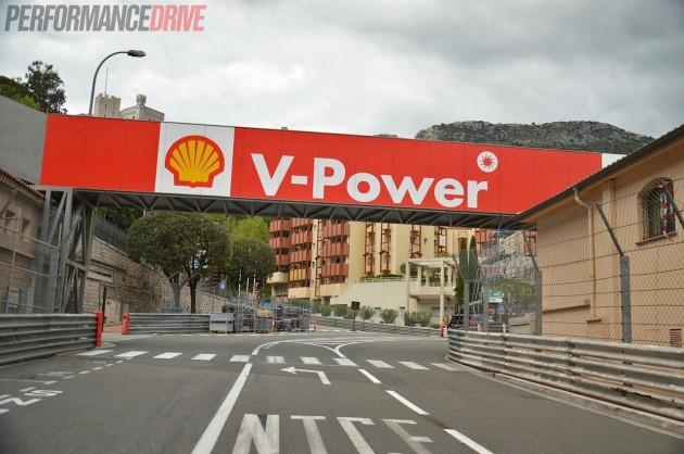2014 Monaco Monte Carlo F1 track-La Rascasse