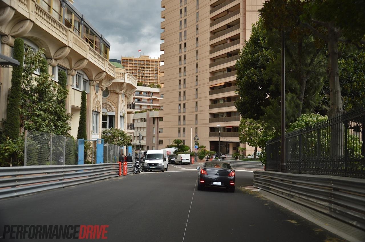 Driving The Monte Carlo F1 Circuit In Monaco