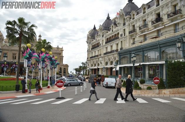 2014 Monaco Monte Carlo F1 track-casino square