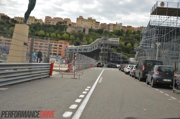 2014 Monaco Monte Carlo F1 track-pool
