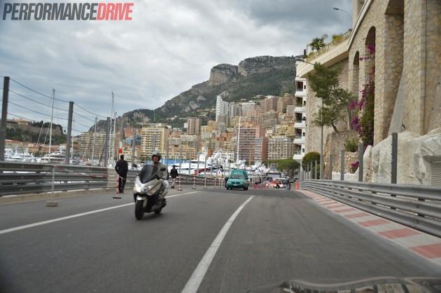 2014 Monaco Monte Carlo F1 track-tunnel exit
