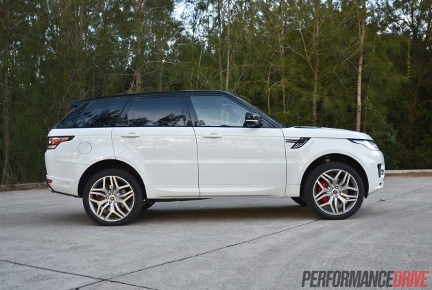 2014 Range Rover Sport Autobiography-max ground clearance