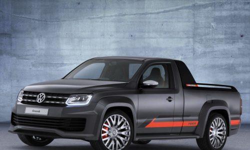Volkswagen Amarok Power concept updated for 2014 Worthersee