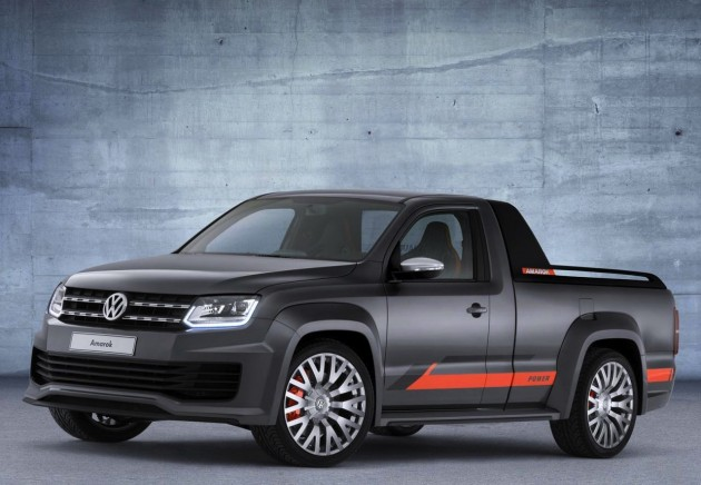 2014 Volkswagen Amarok Power concept