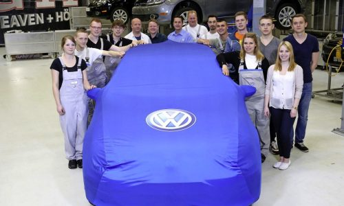 VW Golf GTI project heading to Worthersee, built by 12 apprentices