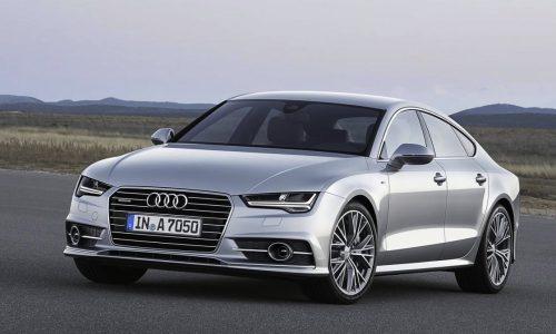 Audi A7 & S7 Sportback facelift revealed