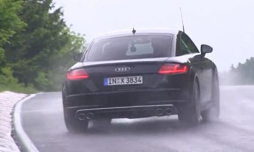 2015 Audi TT spotted wet-weather testing