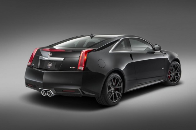 2015 Cadillac CTS-V Coupe special edition-rear