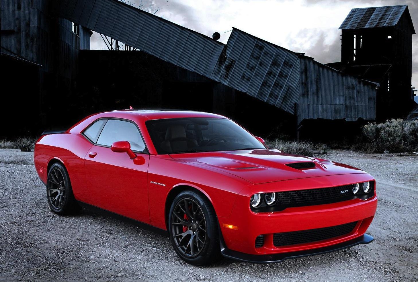Dodge Challenger SRT Hellcat revealed, Chrysler's most ...