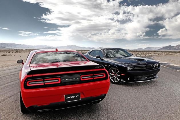 2015 Dodge Challenger SRT and Hellcat
