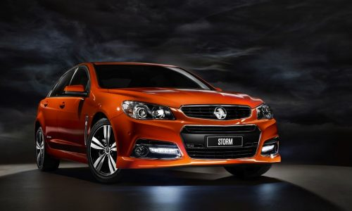 Holden VF Commodore 'Storm' edition announced for SV6 & SS