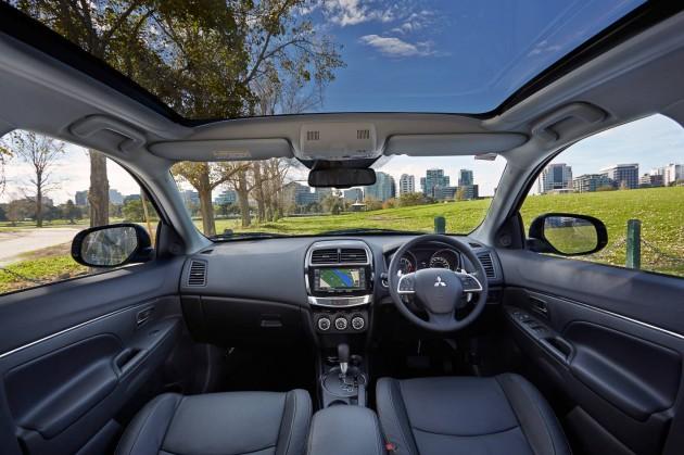 2015 Mitsubishi ASX-interior