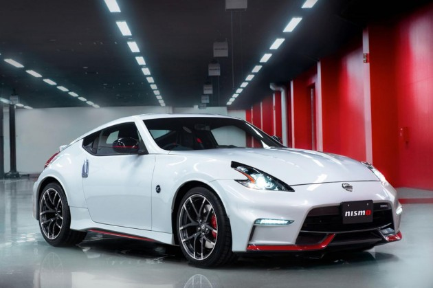 2015 Nissan 370Z Nismo-front