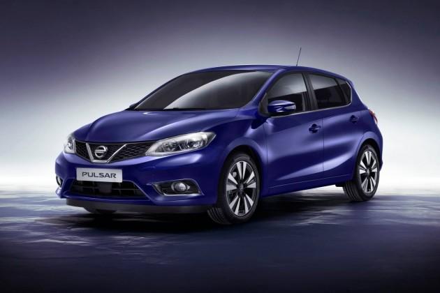2015 Nissan Pulsar Euro-spec