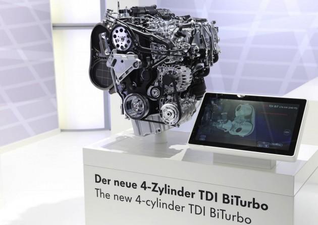 2015 Volkswagen Passat 2.0 biturbo diesel