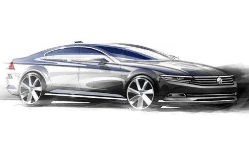 2015 Volkswagen Passat previewed in design sketches