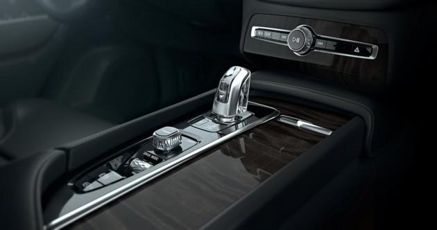 2015 Volvo XC90-crystal gear lever