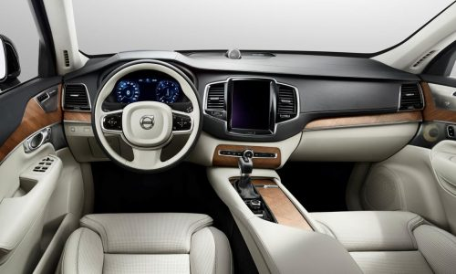 2015 Volvo XC90 interior revealed, full debut in August
