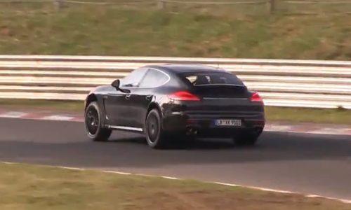 Porsche testing new V6 for next-gen Panamera? (video)