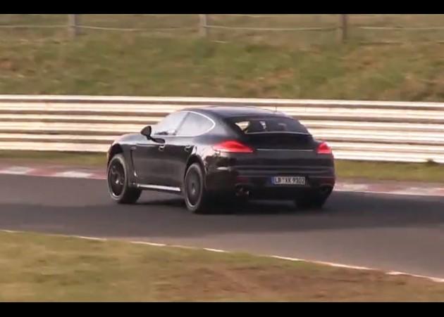 2016 Porsche Panamera prototype