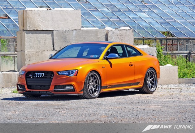 AWE Audi S5-front