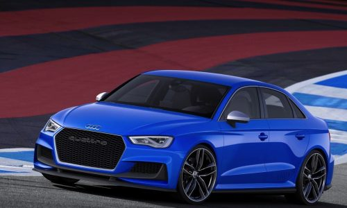 Audi A3 Clubsport Quattro concept revealed, 386kW beast