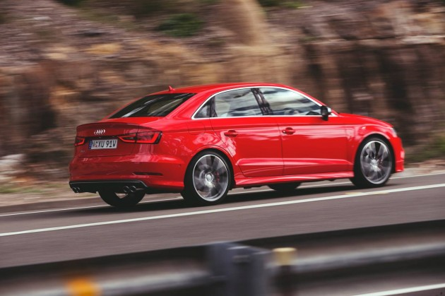 Audi S3 sedan-rear