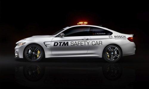 BMW M4 DTM safety car previews M Performance parts