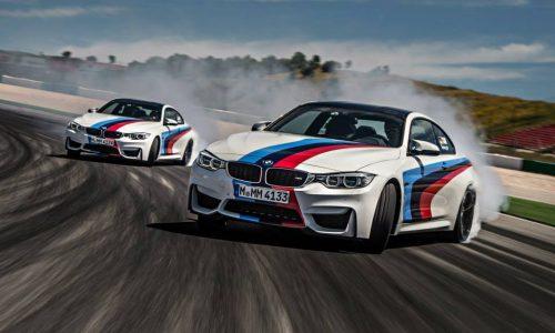 2015 BMW M4 in spectacular drifting fashion