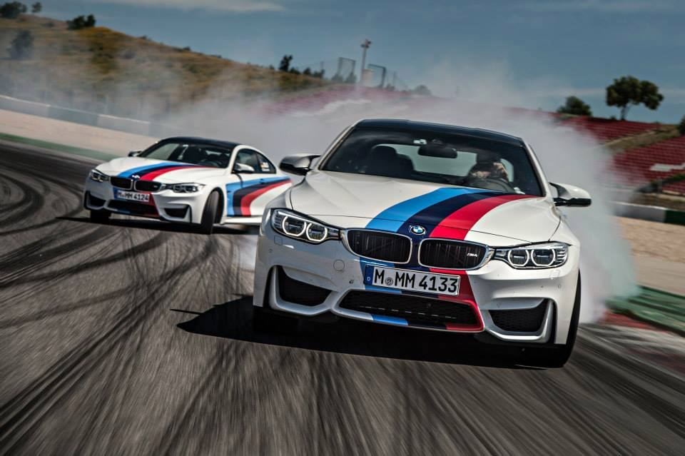 2015 Bmw M4 In Spectacular Drifting Fashion Performancedrive