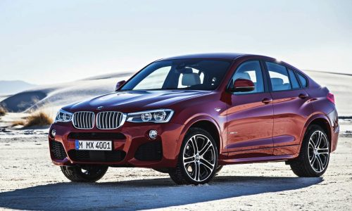 BMW X4 on sale in Australia in July from $69,900
