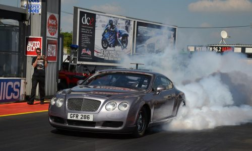 Bentley Continental goes racing with 2237kW Chev V8