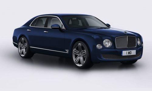 Bentley Mulsanne 95 edition celebrates 95th anniversary