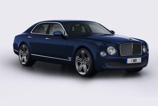 Bentley Mulsanne 95 Britannia Blue
