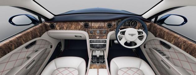 Bentley Mulsanne 95 interior