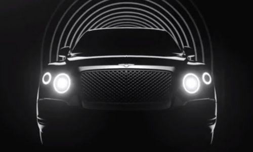 Video: Bentley SUV previewed, plug-in hybrid confirmed