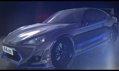 Cosworth FA-20 Power Package for Subaru BRZ coming (video)