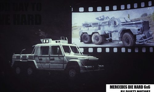 Dartz 'DrIvE Hard 6×6 G'; a bomb-proof monster with 749kW