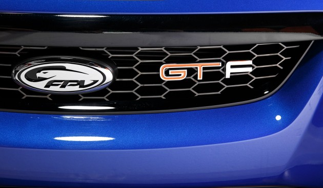 FPV GT F front grille