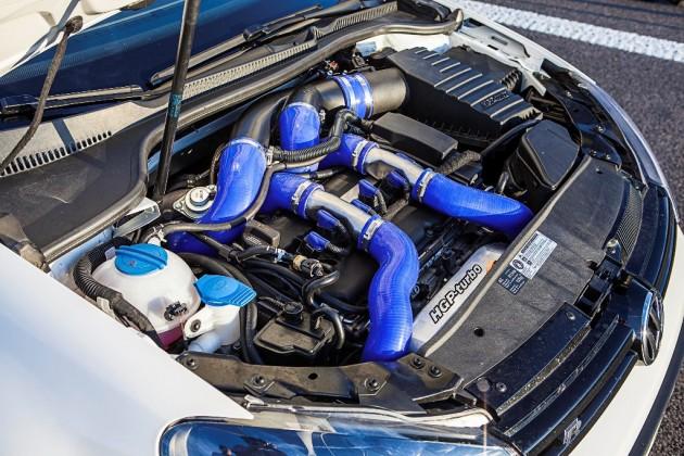 HGP Volkswagen Golf R V6TT-engine