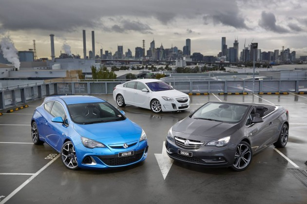 Holden Astra Insignia Cascada