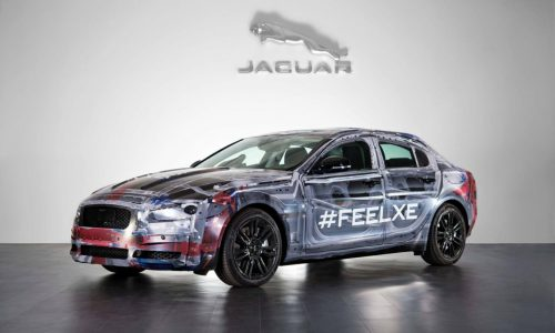 2015 Jaguar XE previewed in most revealing image yet