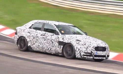 Video: Jaguar XE spotted with screaming supercharged V6