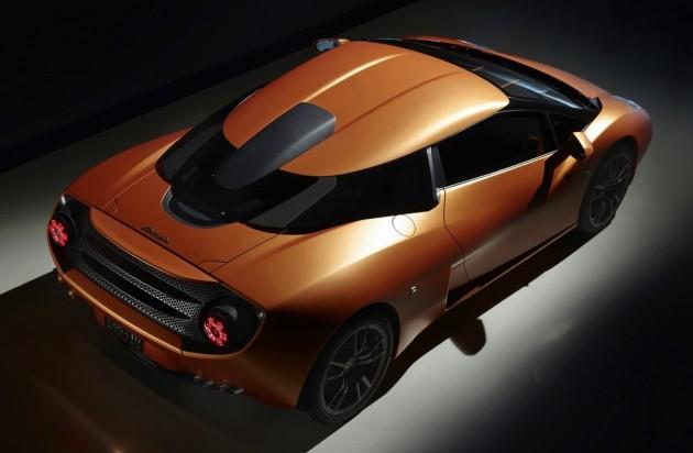 Lamborghini 5-95 Zagato-top