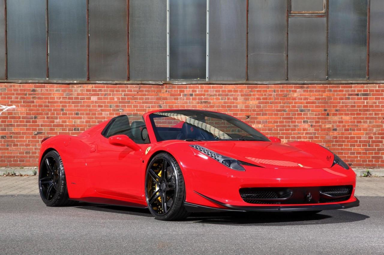 2014 Ferrari 458 Spider >> MEC Design announces Ferrari 458 Spider upgrades | PerformanceDrive