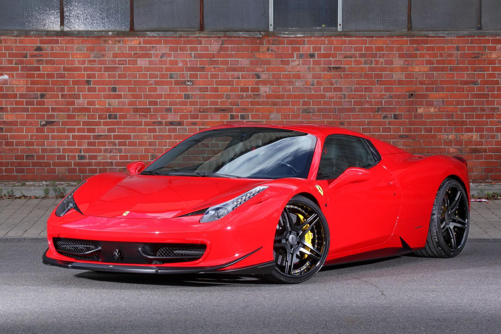 Mec Design Announces Ferrari 458 Spider Upgrades