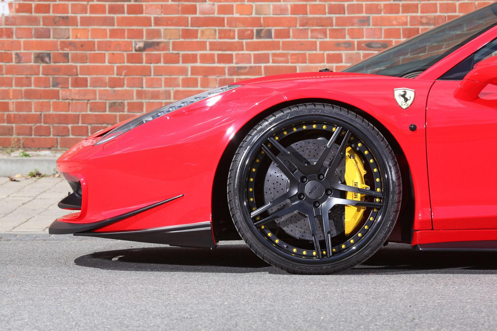 Mec Design Announces Ferrari 458 Spider Upgrades