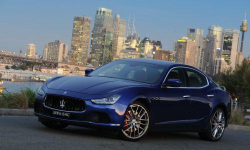 Maserati Ghibli on sale in Australia from $138,900
